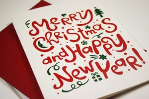 Merry Christmas & Happy New Year Post 1 on The Counseling Geek