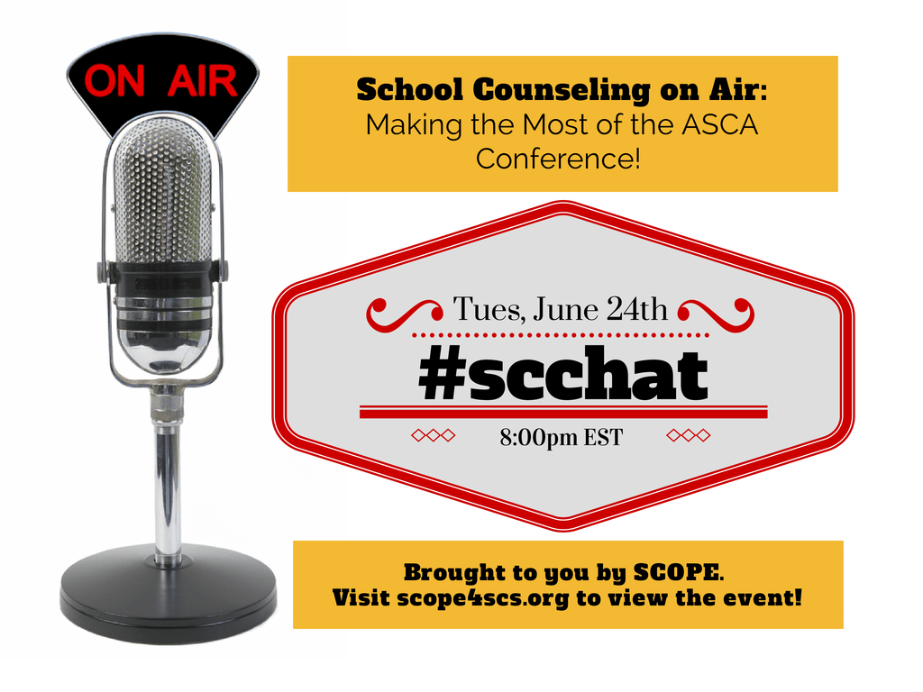 School Counseling On Air – Making the Most of ASCA 2014 (Recorded after event too!)