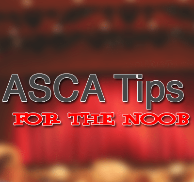 5 (more) Top ASCA Tips for the Noob 2.0 – #ASCA15