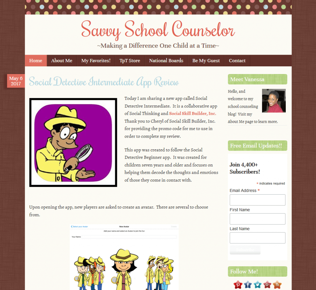 8 Blogs Every School Counselor Needs to Follow 4 on The Counseling Geek